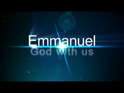 Emmanuel – God is with me as my Mother heads Home to Heaven…
