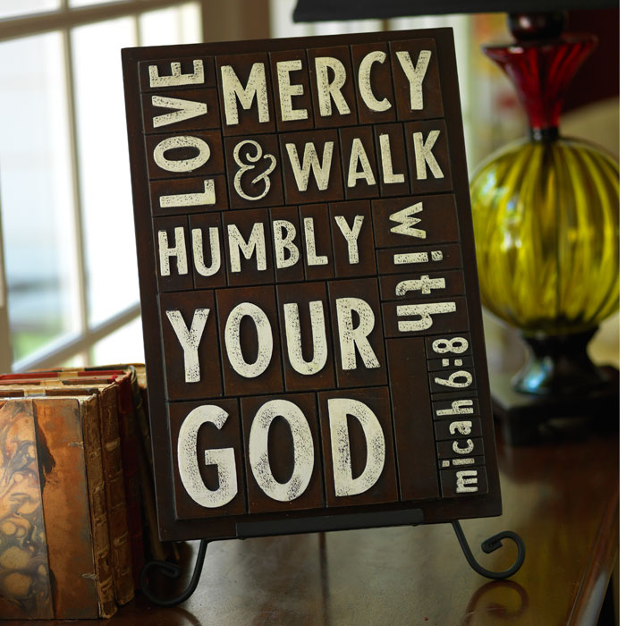 Scriptures on our Walls, Floors and Homes….