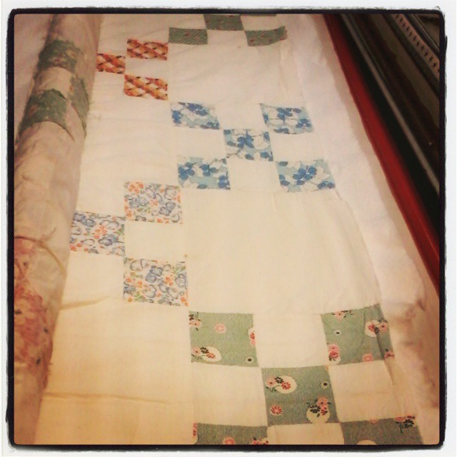 My Grandmothers' quilts and Psalm 90