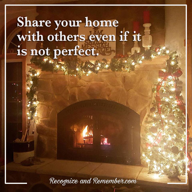 Share your imperfect home with others