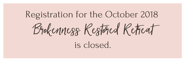 Retreat registration is closed